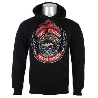 sweat-shirt avec capuche pour hommes Five Finger Death Punch - Black - ROCK OFF, ROCK OFF, Five Finger Death Punch