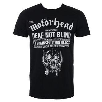 tee-shirt métal pour hommes Motörhead - Deaf Not Blind - ROCK OFF, ROCK OFF, Motörhead