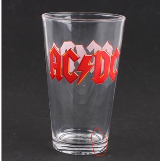 verre AC / DC - Logo - PGAC1 - ENDOMMAGÉ, NNM, AC-DC