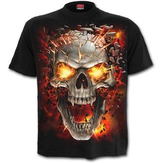 t-shirt pour hommes - SKULL BLAST - SPIRAL, SPIRAL