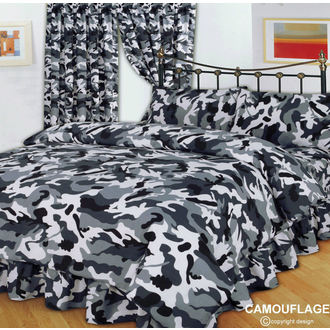 Literie CAMOUFLAGE BLACK, NNM