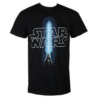 t-shirt de film pour hommes Star Wars - LOGO & SABER - LIVE NATION, LIVE NATION