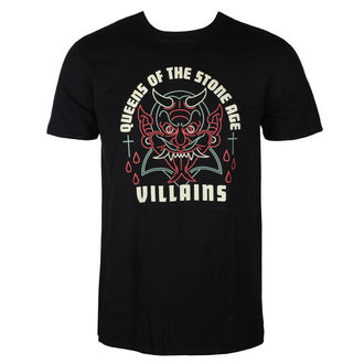 tee-shirt métal pour hommes Queens of the Stone Age - VILLAIN - LIVE NATION, LIVE NATION, Queens of the Stone Age