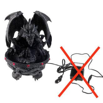 décoration Dragon police de caractère avec fumeur / led - ENDOMMAGÉ
