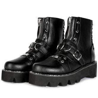 chaussures à semelles compensées pour femmes - BUCKLE - DISTURBIA, DISTURBIA