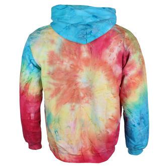 sweat-shirt avec capuche unisexe Jimi Hendrix - AUTHENTIC TYE DIE SWIRL - BRAVADO, BRAVADO, Jimi Hendrix