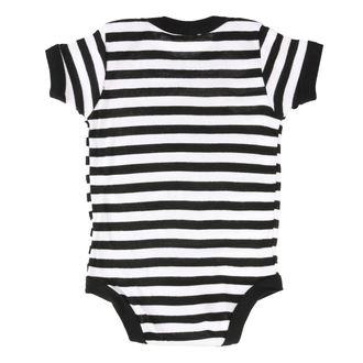 Body bébé SLIPKNOT - LOGO B&W ONESIE - BRAVADO, BRAVADO, Slipknot