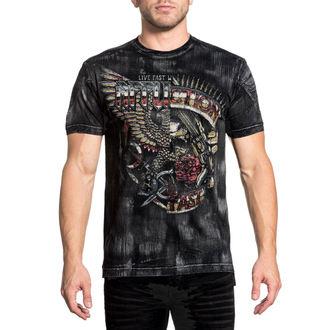 t-shirt hardcore pour hommes - Metal Split - AFFLICTION, AFFLICTION