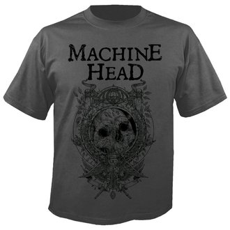 tee-shirt métal pour hommes Machine Head - Clock GREY - NUCLEAR BLAST, NUCLEAR BLAST, Machine Head