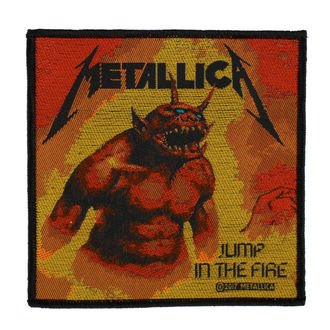 Patch METALLICA - JUMP IN THE FIRE - RAZAMATAZ, RAZAMATAZ, Metallica