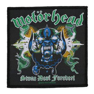 Patch MOTORHEAD - STONE DEAF FOREVER - RAZAMATAZ, RAZAMATAZ, Motörhead