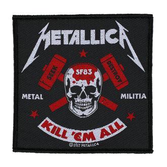 Patch METALLICA - METAL MILITIA - RAZAMATAZ, RAZAMATAZ, Metallica