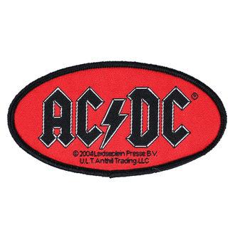 Patch AC / DC - OVAL LOGO - RAZAMATAZ, RAZAMATAZ, AC-DC