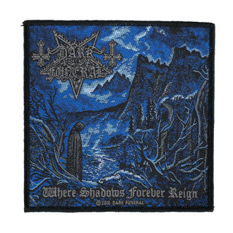 Patch DARK FUNERAL - WHERE SHADOWS FOREVER REIGN - RAZAMATAZ, RAZAMATAZ, Dark Funeral