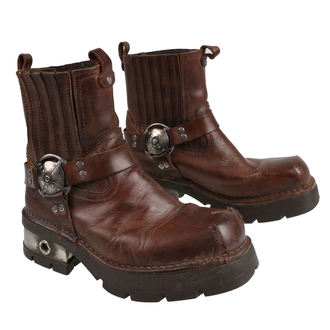 bottes en cuir pour hommes - VENTURE AVIADOR - NEW ROCK, NEW ROCK