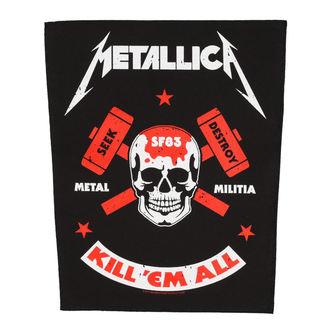 Grand Patch METALLICA - METAL MILITIA - RAZAMATAZ, RAZAMATAZ, Metallica