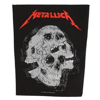 Grand Patch METALLICA - SKULLS - RAZAMATAZ, RAZAMATAZ, Metallica