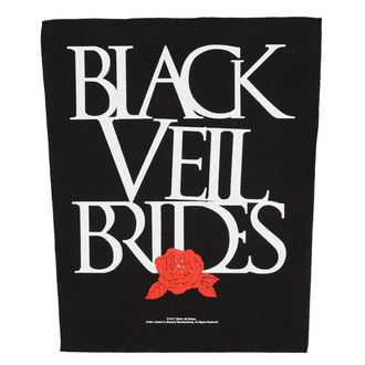 Grand Patch BLACK VEIL BRIDES - ROSE - RAZAMATAZ, RAZAMATAZ, Black Veil Brides