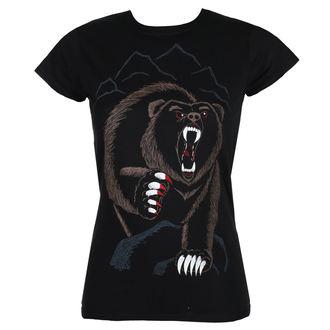 t-shirt hardcore pour femmes - BEAR NECESSITIES - GRIMM DESIGNS, GRIMM DESIGNS