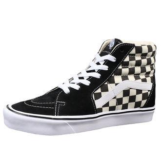 chaussures de tennis montantes pour hommes - UA SK8-HI LITE (Checkerboard) - VANS, VANS