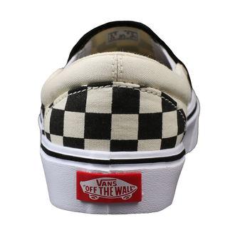 chaussures de tennis basses pour hommes - UA SLIP-ON LITE (CHECKERBOARD) - VANS