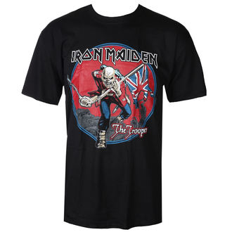 tee-shirt métal pour hommes Iron Maiden - Trooper - ROCK OFF - IMTEE71MB