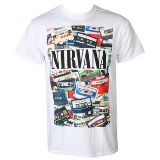 tee-shirt métal pour hommes Nirvana - CASSETTES - PLASTIC HEAD, PLASTIC HEAD, Nirvana