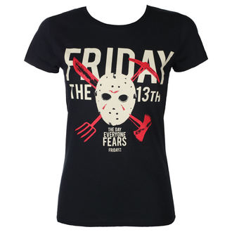 t-shirt de film pour femmes Friday 13th - DAY OF FEAR - PLASTIC HEAD, PLASTIC HEAD