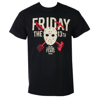 t-shirt de film pour hommes Friday the 13th - DAY OF FEAR - PLASTIC HEAD, PLASTIC HEAD, Friday the 13th