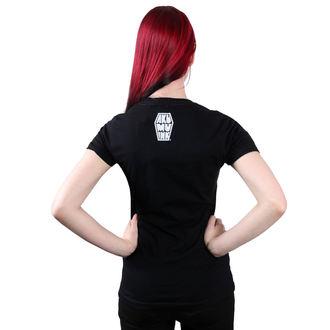 t-shirt hardcore pour femmes - Conquer Thy Enemy - Akumu Ink, Akumu Ink