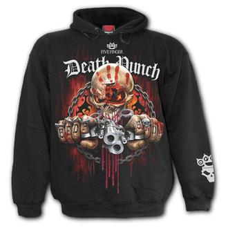 sweat-shirt avec capuche pour hommes Five Finger Death Punch - Five Finger Death Punch - SPIRAL