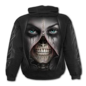 sweat-shirt avec capuche pour hommes - ZIPPED - SPIRAL, SPIRAL