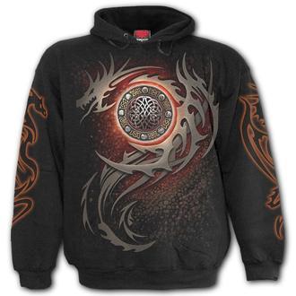 sweat-shirt avec capuche pour hommes - DRAGON EYE - SPIRAL, SPIRAL