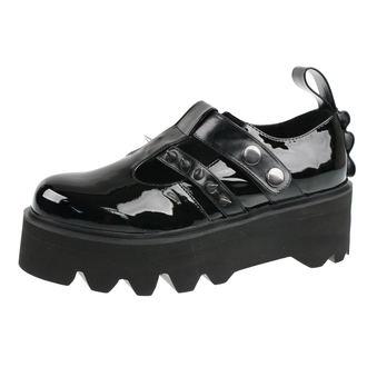 chaussures à semelles compensées pour femmes - Violet - DISTURBIA, DISTURBIA