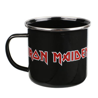 Mug en émail Iron Maiden - Logo, Iron Maiden