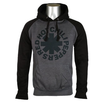 sweat-shirt avec capuche pour hommes Red Hot Chili Peppers - Black Asterisk -, Red Hot Chili Peppers