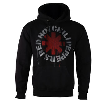 sweat-shirt avec capuche pour hommes Red Hot Chili Peppers - Stencil -, Red Hot Chili Peppers