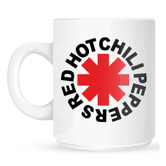 Mug Red Hot Chili Peppers - Original Logo Astrisk - blanc, NNM, Red Hot Chili Peppers