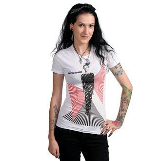 tee-shirt métal pour femmes David Bowie - PERSPECTIVE JR WHT - BRAVADO, BRAVADO, David Bowie