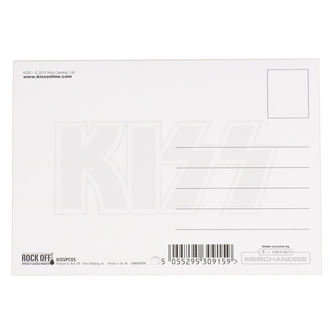 Carte postale KISS - ARMY LOGO - ROCK OFF, ROCK OFF, Kiss