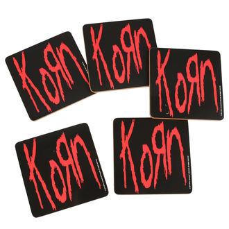 Sous-verres KORN - ROCK OFF, ROCK OFF, Korn