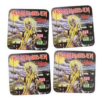 Sous-verres IRON MAIDEN - ROCK OFF, ROCK OFF, Iron Maiden