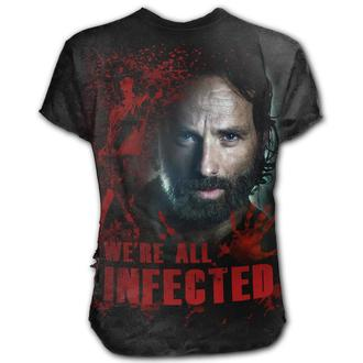 t-shirt de film pour hommes The Walking Dead - RICK - SPIRAL, SPIRAL