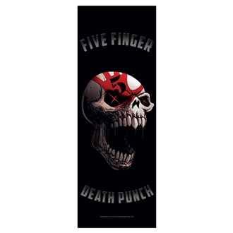 Drapeau Five Finger Death Punch - Speech Skull, HEART ROCK, Five Finger Death Punch