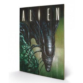 Peinture sur bois ALIEN - (Creep) - PYRAMID POSTERS, PYRAMID POSTERS, Alien - Le 8ème passager