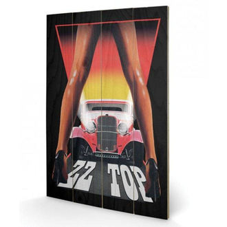 Tableau sur bois ZZ Sommet - (Legs) - PYRAMID POSTERS, PYRAMID POSTERS, ZZ-Top