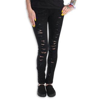 Jeans pour femmes PUNK RAVE - Destroyer, PUNK RAVE