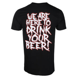 tee-shirt métal pour hommes Alestorm - WE ARE HERE TO DRINK YOUR BEER! - PLASTIC HEAD, PLASTIC HEAD, Alestorm