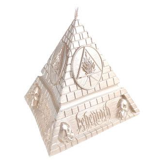 Bougie BEHEMOTH - UNHOLY TRINITY PYRAMID - LAITON - PLASTIC HEAD, PLASTIC HEAD, Behemoth