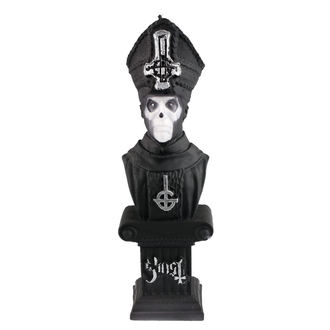 Bougie GHOST - PAPA EMERITUS - NOIR MAT - PLASTIC HEAD, PLASTIC HEAD, Ghost